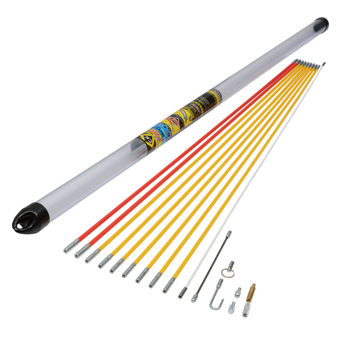 Ck Tools: C.K MightyRod PRO Cable Rods 10m Standard Set T5421